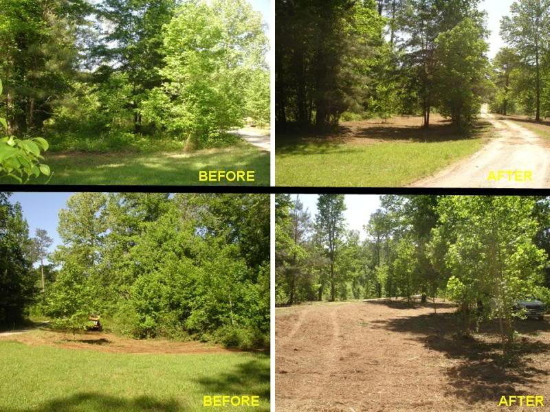 Land Clearing Services, Land and Lot Mulching Company, Brush Mowing